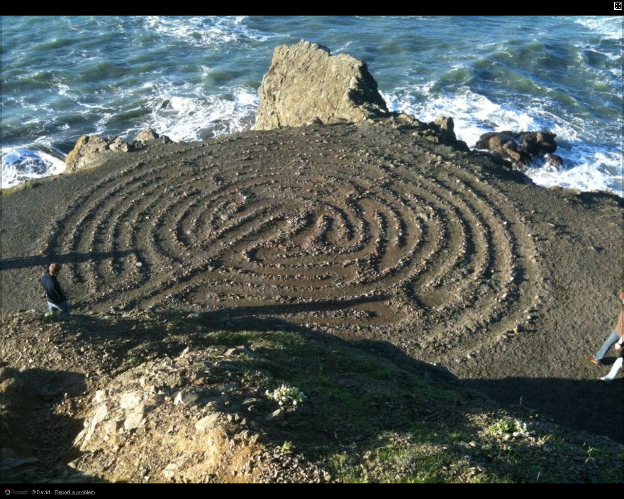 The Land's End Labyrinth